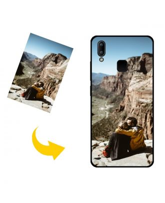 Carcasa de teléfono vivo Y91 (Mediatek) personalizada con su propio diseño, fotos, textos, etc.
