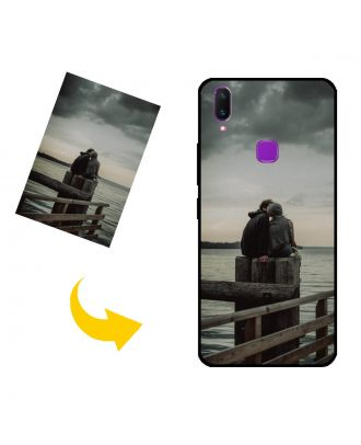 Funda para teléfono vivo Z3x personalizada con tus fotos, textos, diseño, etc.