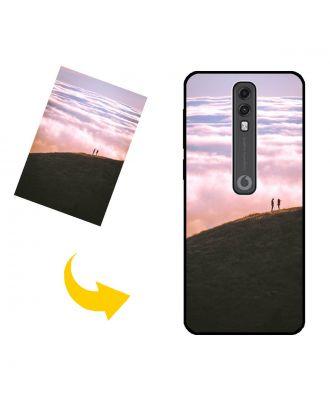 Na mieru vyrobené Vodafone Smart V10 puzdro na telefón s vlastnými fotografiami, textami, dizajnom atď.