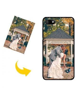 Funda para teléfono Wiko Sunny3 personalizada con sus propias fotos, textos, diseño, etc.