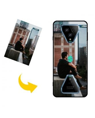 Custom Xiaomi Black Shark 3S Phone Case with Your Own Design, Photos, Texts, etc.