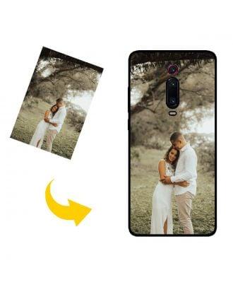 Aangepast Xiaomi Mi 9T telefoonhoesje met uw eigen ontwerp, foto's, teksten, etc.