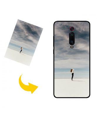 Skræddersyet Xiaomi Mi 9T Pro telefon taske med dine egne fotos, tekster, design osv.