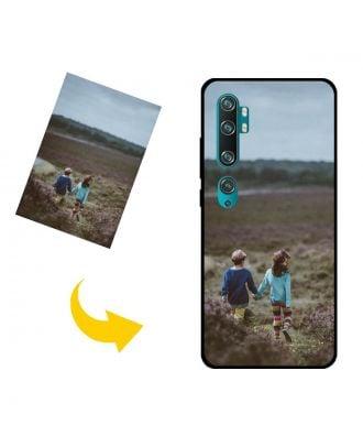 Aangepast Xiaomi Mi Note 10 telefoonhoesje met je eigen foto's, teksten, ontwerp, etc.