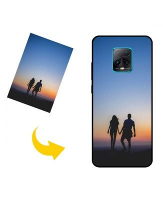 Räätälöity Xiaomi Redmi 10X Pro 5G puhelinkotelo, jossa on omat valokuvat, tekstit, suunnittelu jne.