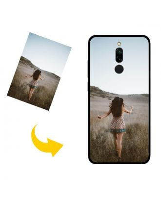 Custom Made Xiaomi Redmi 8 Phone Case with Your Own Design, Photos, Texts, etc.
