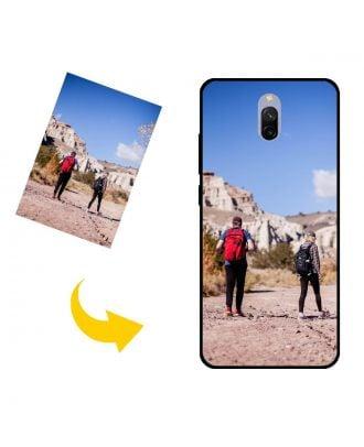 Estuche para teléfono Xiaomi Redmi 8A Dual personalizado con su propio diseño, fotos, textos, etc.