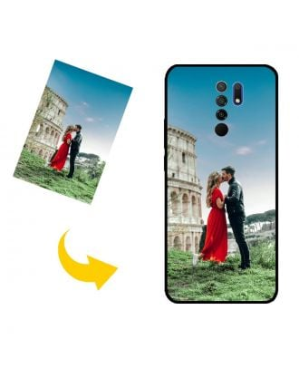 Tilpasset Xiaomi Redmi 9 telefon etui med dit eget design, fotos, tekster osv.