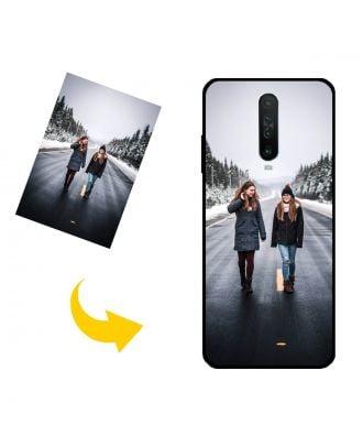 Carcasa de teléfono Xiaomi Redmi K30 5G personalizada con sus propias fotos, textos, diseño, etc.