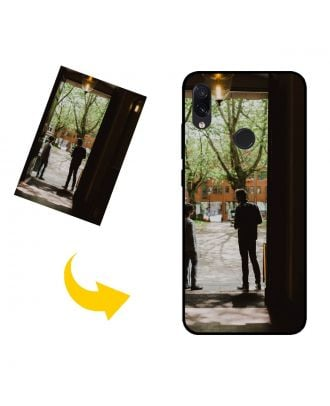 Personlig Xiaomi Redmi Note 7S telefonetui med dine egne fotos, tekster, design osv.