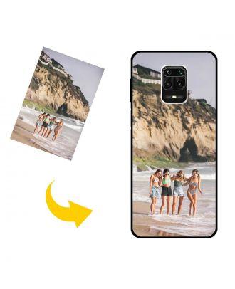 Brugerdefineret Xiaomi Redmi Note 9S telefonetui med dine fotos, tekster, design osv.