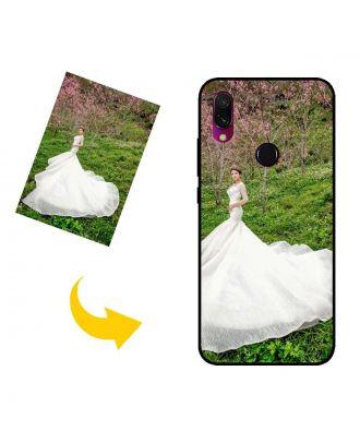 Mukautettu Xiaomi Redmi Y3 puhelinkotelo, jossa on omat valokuvat, tekstit, suunnittelu jne.