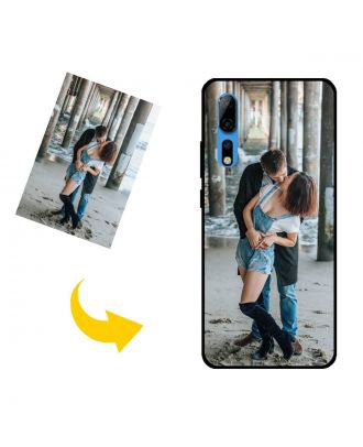 Prispôsobené ZTE Axon 10 Pro puzdro na telefón s vlastným dizajnom, fotografiami, textami atď.