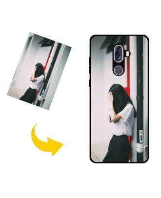 Mittatilaustyönä tehty ZTE Blade Max View puhelinkotelo valokuvillesi, teksteillesi, suunnittelulle jne