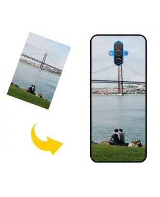 Carcasa de teléfono ZTE nubia Red Magic 5G Lite personalizada con sus propias fotos, textos, diseño, etc.