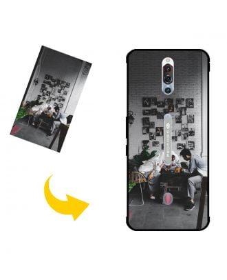 Carcasa de teléfono ZTE nubia Red Magic 5S personalizada con sus propias fotos, textos, diseño, etc.