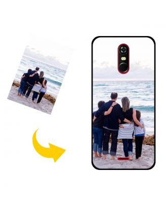 Personlig BLU C6 2020 telefonetui med dine fotos, tekster, design osv.