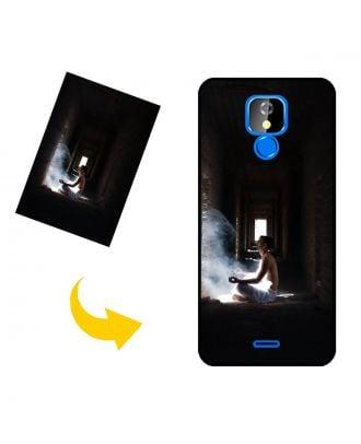 Skræddersyet BLU J6 2020 telefonkasse med dine fotos, tekster, design osv.