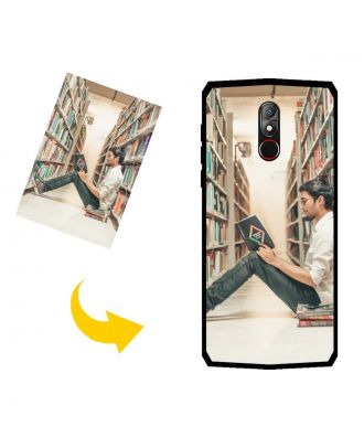Customized GIONEE M30 Phone Case with Your Own Design, Photos, Texts, etc.