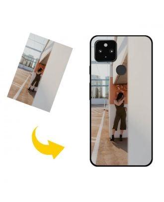 Personlig Google Pixel 4a 5G telefonetui med dine fotos, tekster, design osv.