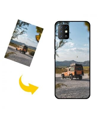 Custom Made Infinix Hot 10 Phone Case with Your Own Photos, Texts, Design, etc.