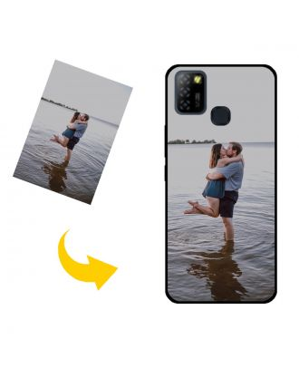 Customized Infinix Hot 10 Lite Phone Case with Your Own Photos, Texts, Design, etc.