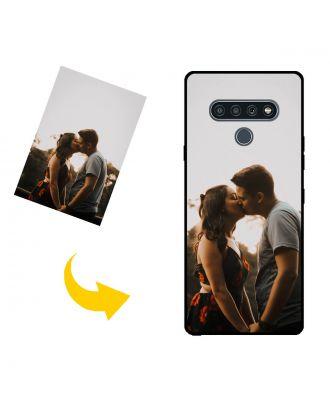 Aangepast LG K71 telefoonhoesje met uw foto's, teksten, ontwerp, etc.