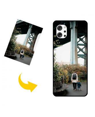 Aangepast LG Q92 5G telefoonhoesje met je eigen foto's, teksten, ontwerp, etc.