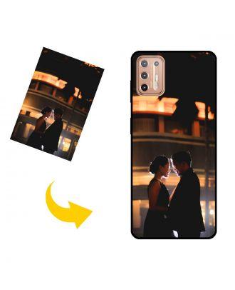 Custom Made Motorola Moto G9 Plus Telefoonhoesje met uw eigen ontwerp, foto's, teksten, etc.