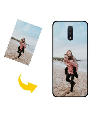 Custom Made Nokia 2 V Tella Phone Case with Your Own Design, Photos, Texts, etc.