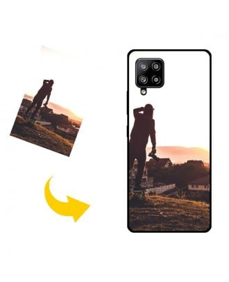 Custom Made Samsung Galaxy A42 5G Phone Case with Your Own Design, Photos, Texts, etc.
