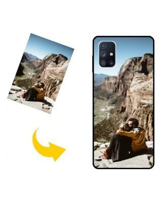 Customized Samsung Galaxy M51 Phone Case with Your Own Photos, Texts, Design, etc.