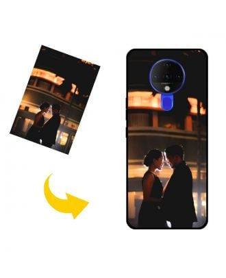 Personalized TECNO Spark 6 Phone Case with Your Photos, Texts, Design, etc.