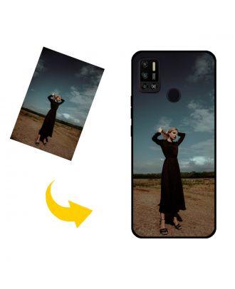 Carcasa de teléfono TECNO Spark 6 Air personalizada con sus propias fotos, textos, diseño, etc.