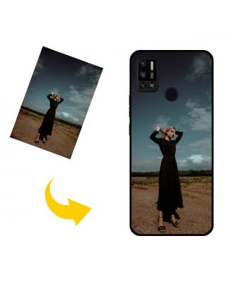 Customized TECNO Spark 6 Air Phone Case with Your Own Photos, Texts, Design, etc.