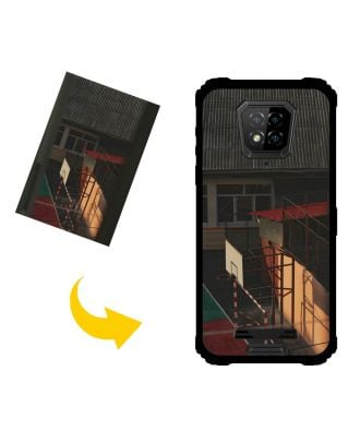 Custom Made Ulefone Armor 8 5G Phone Case with Your Own Design, Photos, Texts, etc.