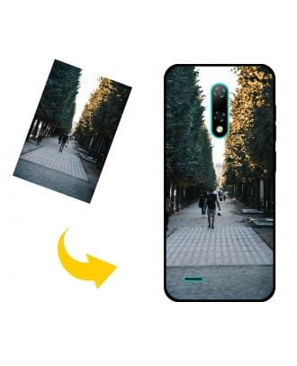 Custom Ulefone Note 8 Phone Case with Your Own Design, Photos, Texts, etc.