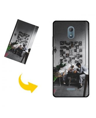 Customized Wiko Jerry3 / Sunny3 Plus Phone Case with Your Own Photos, Texts, Design, etc.
