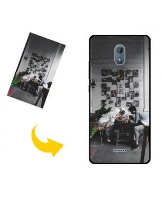 Aangepast Wiko Jerry3 / Sunny3 Plus telefoonhoesje met je eigen foto's, teksten, ontwerp, etc.