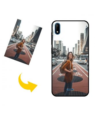 Customized Wiko Sunny4 Phone Case with Your Own Design, Photos, Texts, etc.