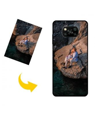 Custom Made Xiaomi Poco X3 Phone Case with Your Own Photos, Texts, Design, etc.