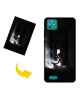 Personalized Yezz Liv 2 LTE Phone Case with Your Own Photos, Texts, Design, etc.