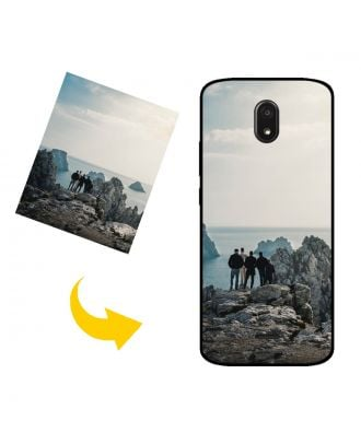 Custom Made BLU View Mega Phone Case with Your Own Photos, Texts, Design, etc.