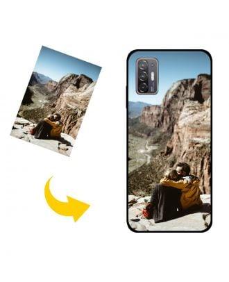Capa de telefone HTC Desire 21 Pro 5G personalizada com suas próprias fotos, textos, design, etc.