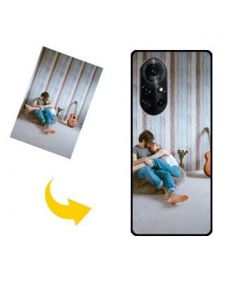 Wykonane na zamówienie etui na telefon HUAWEI nova 8 Pro 5G z własnymi zdjęciami, tekstami, projektem itp.