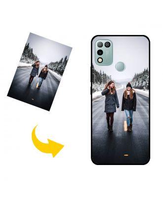 사진, 텍스트, 디자인 등이 포함 된 맞춤형 Infinix Hot 10 Play 휴대 전화 케이스