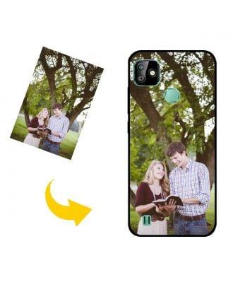 나만의 사진, 텍스트, 디자인 등이 포함 된 맞춤형 Infinix Smart HD 2021 휴대 전화 케이스