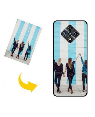 사진, 텍스트, 디자인 등이 포함 된 맞춤형 Infinix Zero 8i 휴대폰 케이스