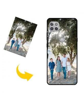 Skræddersyet Motorola Moto G 5G telefon taske med dit eget design, fotos, tekster osv.