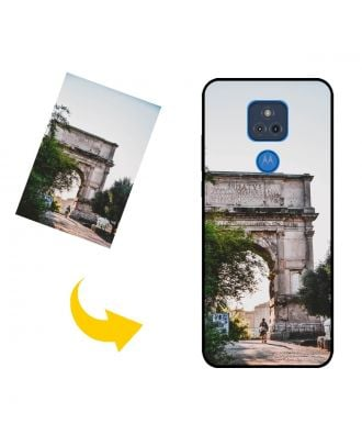 Customized Motorola Moto G Play (2021) Phone Case with Your Own Design, Photos, Texts, etc.